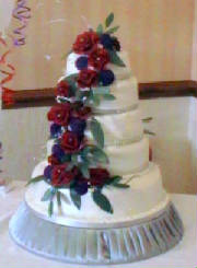 5 tier chocolate wedding cake Deba Daniels.jpg